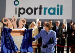 HRH The Princess Royal officially opens iPort Rail in Doncaster