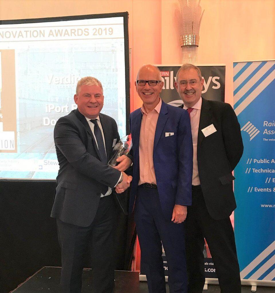 iPort Rail wins Rail Industry Innovation Award